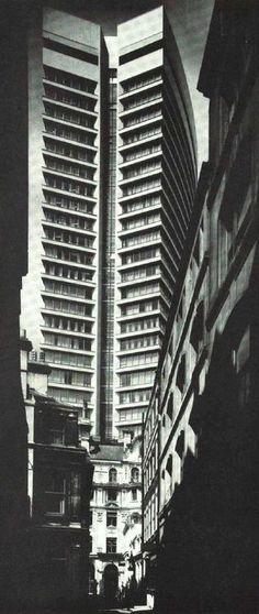Drapers Gardens, Throgmorton Avenue, City of London, London (circa 1968) - demolished.