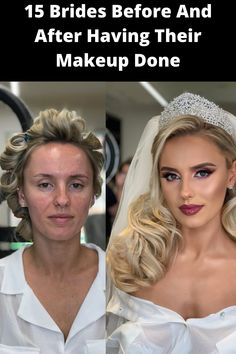 For most brides, a wedding wouldn't be complete without a stunning makeover. Every bride wants to look their absolute best on their big day, wow their wedding guests and of course, look amazing for their soon-to-be spouse. One makeup artist has become a viral sensation after sharing the astounding before and after photos of some of her brides.