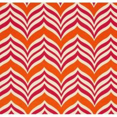 How great is this orange outdoor fabric! Would brighten up any outdoor area. Buy the fabric by the metre here.