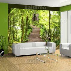 Wandbilder natur  Vlies Fototapete 350x245 cm - Top Tapete ! Wandbilder XXL Wandbild ...