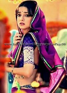 sanaya irani saree stylesin rangrsia serial hd wallpapers - Google Search Arnav And Khushi, Indian Drama, Sanaya Irani, Indian Movies, Half Saree, Bollywood Stars, Perfect Wife, Film Movie, Indian Dresses