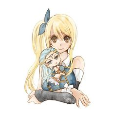Fairy Tail Obsessed ❤ liked on Polyvore featuring anime and drawings