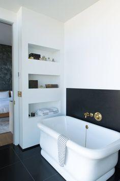 Contemporary Bathroom in New York, NY by Ashe + Leandro
