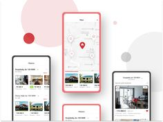 iOS App Nehnutelnosti - Biggest real estate in Slovakia designed by Tomas Skrkon for GoodRequest. Connect with them on Dribbble; Mobile Application Development, Ios App, Real Estate, Fresh, Real Estates