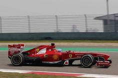 Round 3, UBS Chinese Grand Prix 2013, Qualify, Fernando Alonso, Scuderia Ferrari, On Track Action