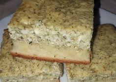 Kapros-túrós lepény   Georgina Kukoda receptje - Cookpad receptek Healthy Recipes, Healthy Food, Banana Bread, Sandwiches, Dairy, Sweets, Cheese, Snacks, Cookies