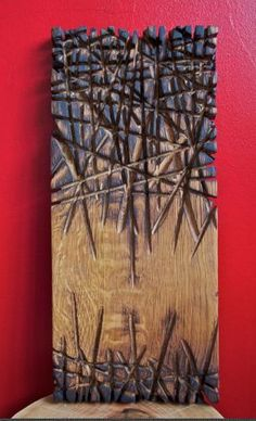 "Stéphane Derozier ~""Burning Chêne"" ~ Wood Sculpture✖️More Pins Like This One At FOSTERGINGER @ Pinterest✖️"
