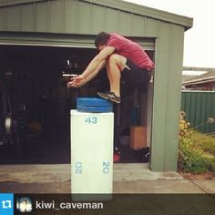 Matt is at it again! Testing out the new WOD Short! Hitting a PR on the box jump of 1.26m or 49 & 1/2 inches! Check out the fresh WOD shorts, amazing flexibility for all CrossFit movements at www.thewodlife.com.au @kiwi_caveman @THE WOD LIFE #thewodlife #thewodlifeau #twl #twlcrew #boxjump #crossfit #crossfitaustralia #PR #wod #wodshorts   Read more at http://web.stagram.com/p/532477323792437384_358876619#x3EVmouuOTsEhJO7.99