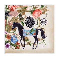 Gucci Silk Twill Garden Print Scarf (£275) ❤ liked on Polyvore featuring accessories, scarves, silks & scarves, women, floral print scarves, silk twill scarves, vintage shawl, gucci scarves and gucci