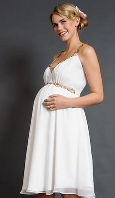 20 Elegant Wedding Dresses For Pregnant Brides | pregnancy dresses ...