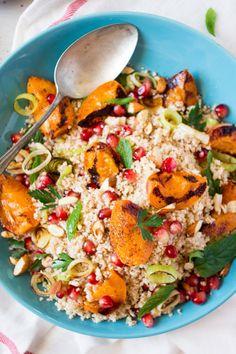 Middle Eastern cauliflower rice salad - recipe hereFollow for Mein Blog: Alles rund um Genuss & Geschmack Kochen Backen Braten Vorspeisen Mains & Desserts!
