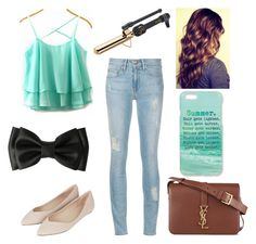"""""""summer day out"""" by horse-princess12 ❤ liked on Polyvore"""