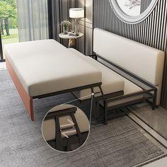 Smart Furniture, Space Saving Furniture, Furniture Ideas, Modern Furniture, Furniture Design, Outdoor Furniture, Outdoor Decor, Multifunctional Furniture Small Spaces, Most Comfortable Sofa Bed