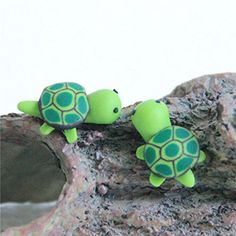 10pcs Miniature Dollhouse Bonsai Garden Landscape Flower Pot Sea Turtle Decor -- Want additional info? Click on the image.(This is an Amazon affiliate link and I receive a commission for the sales)