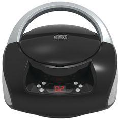 AUX IN SD USB Radio Vintage Akai R100/Disc Size Black