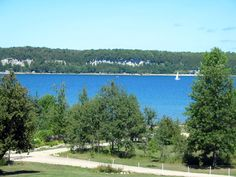 View of Bay in Wiarton, Ontario