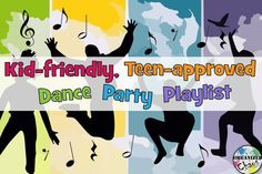 """Organized Chaos: Mommy Monday: kid-friendly, teen-approved dance playlist. Great songs for a dance party that the whole family can get excited about. No """"kiddie"""" songs here, just good, clean, upbeat music."""