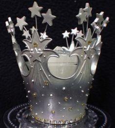 Princess Theme Fairytale Queen Wedding Cake Topper Glinda Crown Wizard of Oz | eBay