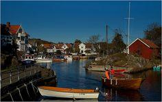 Nevlunghavn, en deilig liten havneby
