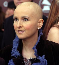 Celebrities who survived breast cancer: Melissa Etheridge: In 2004, doctors found a lump in rocker Melissa Etheridge's breast. After months of enduring radiation and chemotherapy, a hairless Etheridge performed a tribute to Janis Joplin at the 2005 Grammys and received the only standing ovation that night.