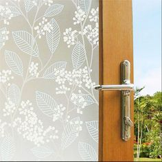 Cheap decorative door stop, Buy Quality decorative door frame directly from China decor front door Suppliers:     Product Details:  Name:Privacy Self-adhesive Glass window Film  Material:Environmental PVC+Release PET film  Size:60