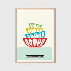Dishes Can Wait Life Wont Poster  by SealDesignStudio on Etsy, $14.00