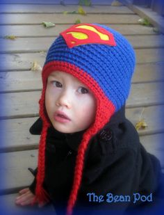 Super Heros, Caps Hats, Baby Items, Superman, Crochet Hats, Facebook, Knitting, Boys, Beanies