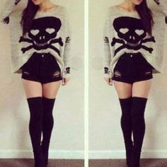 (4) Girly Fashion. | via Facebook