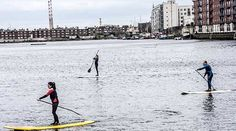 """Also known as SUP (stand up paddle boarding) this is a relatively new sport to Ireland but it's certainly going strong. Both in Grand Canal Docks and out in Dun Laoghaire over the summer months paddle boards can be seen, pottering about, taking classes and even doing yoga on the boards.  Although you might think this is a difficult looking sport the boards are surprisingly steady and you'll find your """"sea legs"""" quickly. It's certainly a serene and fun way to get a different perspective on…"""