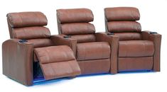 *Price is per chair. More color options are available in our showrooms. Home Theater Seating, Recliners, Space Saver, Polished Look, Bustle, Home Furnishings, Cushions, Interior Design, Detail