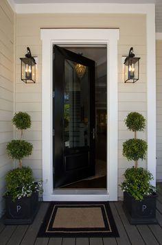 front door lighting ideas | Interior : Front Door Light Fixtures Ideas To Paint On Canvas 2 Color ...