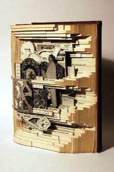 Paper Art - 100 Extraordinary Examples of Paper Art | Webdesigner Depot  by Brian Dettmar
