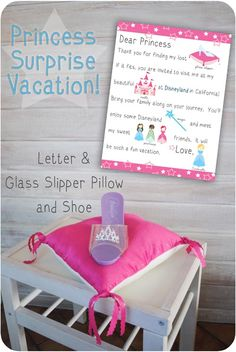 Princess Vacation Surprise Gift Idea