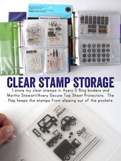 Hi everyone! I'm blogging about stamping this week at write.click.scrapbook . If you haven't been over there yet check out this post  for ...