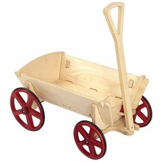 Moover Prairie Wagon - Wooden Ride-On Toy