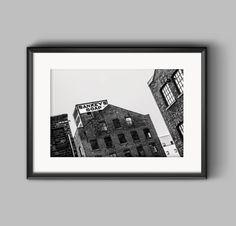 Sankeys Soap, fine art urban landscape print, Manchester