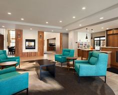 Homewood Suites by Hilton Syracuse-Carrier Circle Hotel, NY - Lobby | NY 13057