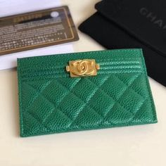 353772d006d3 Chanel Boy Chanel Card Holder 100% Authentic 80% Off | Chanel Handbags for  Sale
