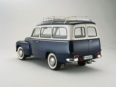 58 Volvo Duet. Even Volvo's looked better back then.