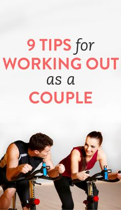 9 tips for working out as a couple.  My parents always worked out together.  Don't know if they still do.