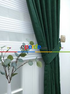 Fon Perde - Yeşil Lacost » Eperde.com