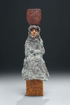 Ceramic Sculpture - Figurative Sculpture with thanks to Sculpture Artist Ed Byers , Artist Study Resources for CAPI::: Create Art Portfolio Ideas at milliande.com, Art School Portfolio Work