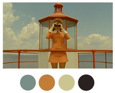 Wes Anderson Color Palettes - Wes Anderson Set Design - House Beautiful