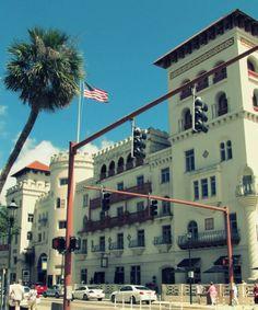 The Casa Monica Hotel.