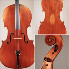 An 1860 #cello crafted by Charles Plumerel is available for examination and trial. #cellist