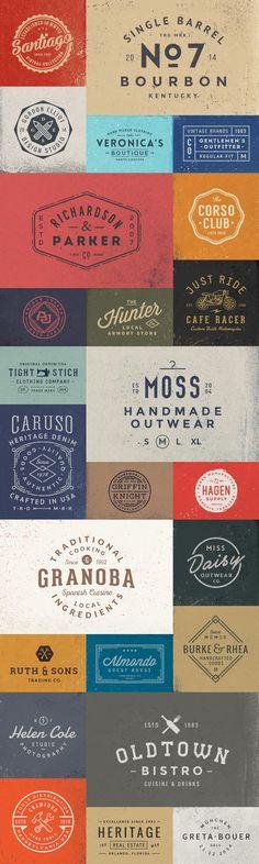 50 Logo Templates Bundle by GraphicBurger #designtool #logo #template