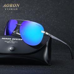 Óculos · AORON Brand Polarized Sunglasses Men s Classic Alloy Goggles  Women s Fashion Designer Leisure Glasses 100% UV400 325b1eed45