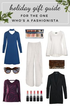 Sustainable fashion holiday gift guide, for the one who's a fashionista If you're looking for ethical and locally-made gifts for all the amazing ladies in your life, look no further. Our unbelievably comfortable, quality clothing is designed for women, by women, with eco-luxe fabrics that last. #giftguide #holidaygiftguide #sustainablefashion #ethicalclothing #bambooclothing Sustainable Clothing, Sustainable Fashion, Holiday Gift Guide, Holiday Gifts, Ethical Clothing, Basic Tops, Black Dress Pants, Holiday Fashion, Slow Fashion