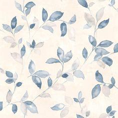 Vackra slingrande blad i blå nyans från kollektionen Arcadia AC-18553. Klicka för att se fler fina tapeter för ditt hem! Old Wallpaper, Wallpaper Decor, Print Wallpaper, Flower Wallpaper, Pattern Wallpaper, Wall Design, Design Art, Islamic Art Pattern, Textured Carpet