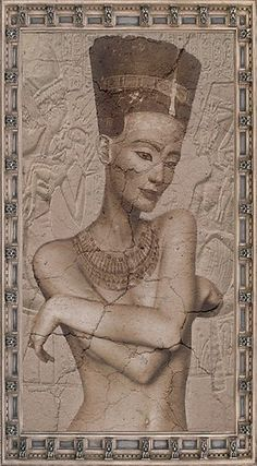 It has been discovered that the infamous Queen Nefertiti statue that was found in the early century has a true underlying stone car. Ancient Art, Ancient Egypt, Ancient History, Art History, Ancient Aliens, Egyptian Queen, Egyptian Art, African Goddess, Queen Nefertiti